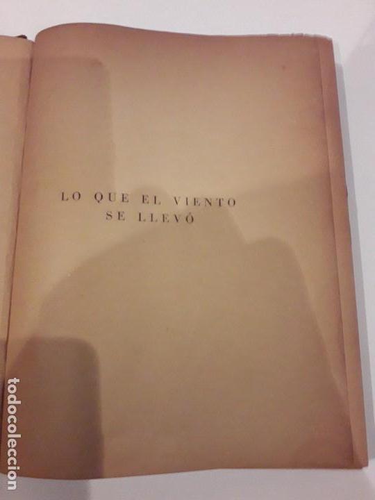Libros de segunda mano: LO QUE EL VIENTO SE LLEVÓ. 1949.EDITORIAL AYMA - Foto 5 - 168626160