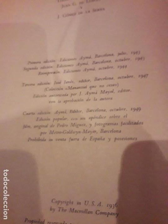 Libros de segunda mano: LO QUE EL VIENTO SE LLEVÓ. 1949.EDITORIAL AYMA - Foto 7 - 168626160