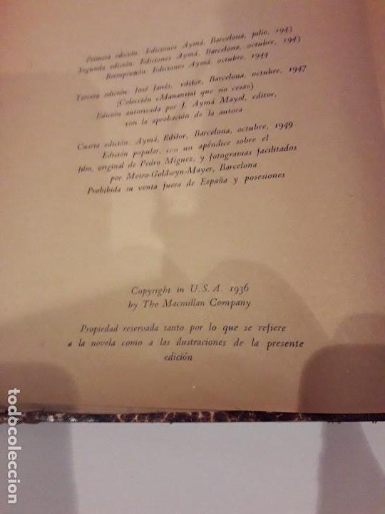 Libros de segunda mano: LO QUE EL VIENTO SE LLEVÓ. 1949.EDITORIAL AYMA - Foto 8 - 168626160