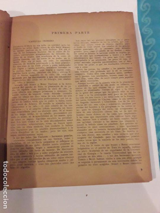 Libros de segunda mano: LO QUE EL VIENTO SE LLEVÓ. 1949.EDITORIAL AYMA - Foto 9 - 168626160