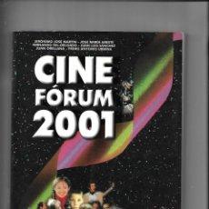 Libros de segunda mano: CINE FÓRUM 2001 CRÍTICAS Y FICHAS DE TODOS LOS ESTRENOS CINEMATOGRAFICOS DEL AÑO 2000 SO 470 PÁGINAS. Lote 168765668
