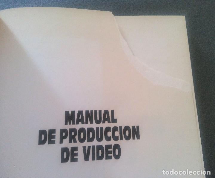 Libros de segunda mano: Manual de Producción de Video Gerald Millerson - Foto 3 - 168844596