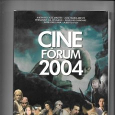 Libros de segunda mano: CINE FÓRUM 2004, CRÍTICAS, CARTELES, FICHAS TECNICAS Y FOTOGRAFIAS DE TODAS LAS PELÍCULAS DEL 2003.. Lote 168876240