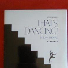 Libros de segunda mano: THAT'S DANCING BY TONY THOMAS. Lote 169013356