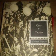 Libros de segunda mano: CINE Y TREATO.. Lote 169058036