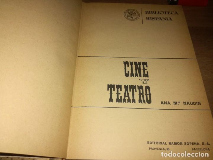 Libros de segunda mano: CINE Y TREATO. - Foto 3 - 169058036