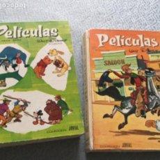 Libros de segunda mano: PELICULAS. WALT DISNEY. SEXTO Y SÉPTIMO TOMOS. COLECCION JOVIAL. TAPA DURA. 320 Y 250 PAGINAS RESPEC. Lote 169123932
