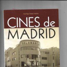Libros de segunda mano: CINES DE MADRID TODOS LOS CINES QUE TENIA MADRID 536. EDICIONES LA LIBRERIA CONTIENE 338 PÁGINAS. Lote 169175156