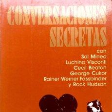 Libros de segunda mano: BOZE HADLEIGH. CONVERSACIONES SECRETAS. NAVARRA. 1988.. Lote 169343400
