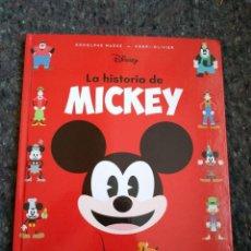 Libros de segunda mano: LA HISTORIA DE MICKEY - RODOLPHE MASSÉ & HENRI-OLIVIER - TAPA DURA - WALT DISNEY . Lote 169375124
