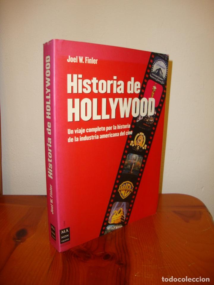 HISTORIA DE HOLLYWOOD - JOEL W. FINLER - MA NON TROPPO, MUY BUEN ESTADO (Libros de Segunda Mano - Bellas artes, ocio y coleccionismo - Cine)
