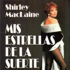 Libros de segunda mano: MIS ESTRELLAS DE LA SUERTE. SHIRLEY MACLAINE. PPLAZA & JANES. 1996.. Lote 169857268