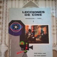 Libros de segunda mano: LECCIONES DE CINE TOMO 1 - INTRODUCCIÓN Y TEORÍA - V.V.A.A.. Lote 170011464