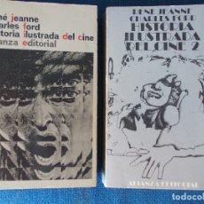 Libros de segunda mano: HISTORIA ILUSTRADA DEL CINE 1 Y 2 . Lote 170363928