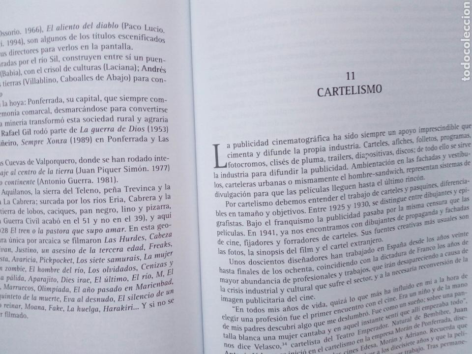 Libros de segunda mano: EL CINE LEONES, UN ESTUDIO (2005, Instituto Leonés de Cultura) - Juan Manuel Alvarez Benito ( León - Foto 8 - 170899470