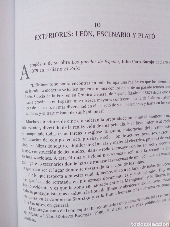 Libros de segunda mano: EL CINE LEONES, UN ESTUDIO (2005, Instituto Leonés de Cultura) - Juan Manuel Alvarez Benito ( León - Foto 7 - 170899470