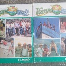 Libros de segunda mano: VERANO AZUL. ACANTO EDICIONS. DOS TOMOS. 1982. Lote 171128570