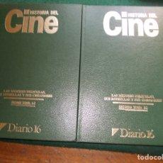Libros de segunda mano: HISTORIA DEL CINE ENCUADERNADO 2 TOMOS. Lote 171857389