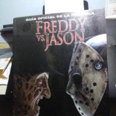 Libros de segunda mano: LIBRO GUIA FREDDY VS. JASON (PESADILLA EN ELM STREET & VIERNES 13 ). Lote 171996524