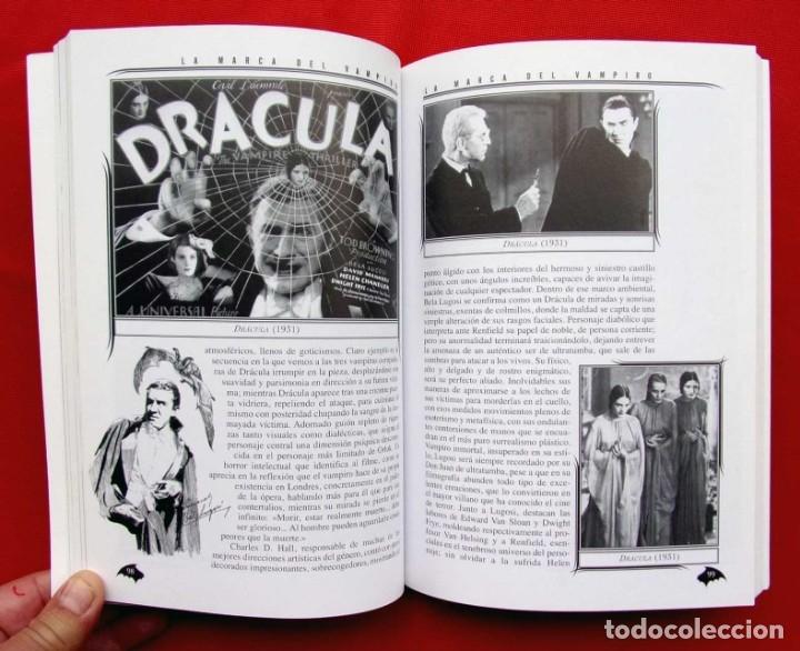 Libros de segunda mano: LA MARCA DEL VAMPIRO. CINE FANTÁSTICO Y DE TERROR. ESTEPONA. MALAGA. AÑO: 2006. - Foto 4 - 172346808
