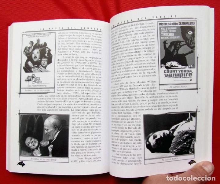 Libros de segunda mano: LA MARCA DEL VAMPIRO. CINE FANTÁSTICO Y DE TERROR. ESTEPONA. MALAGA. AÑO: 2006. - Foto 5 - 172346808