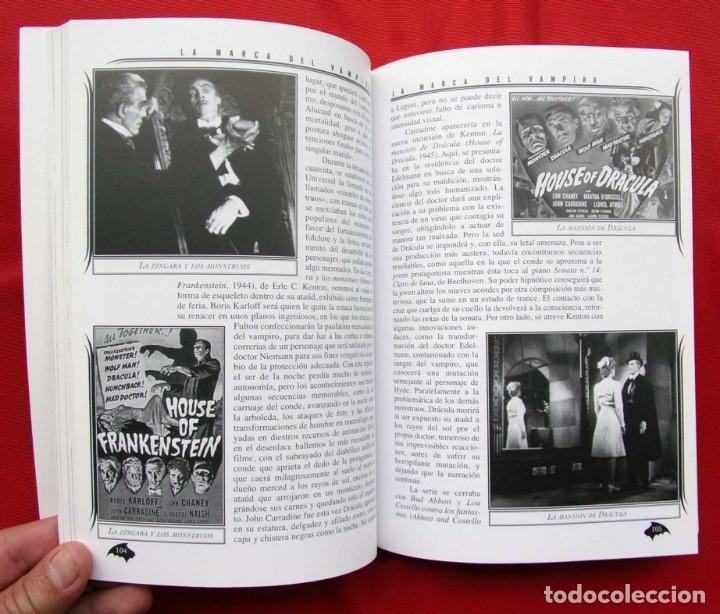 Libros de segunda mano: LA MARCA DEL VAMPIRO. CINE FANTÁSTICO Y DE TERROR. ESTEPONA. MALAGA. AÑO: 2006. - Foto 6 - 172346808
