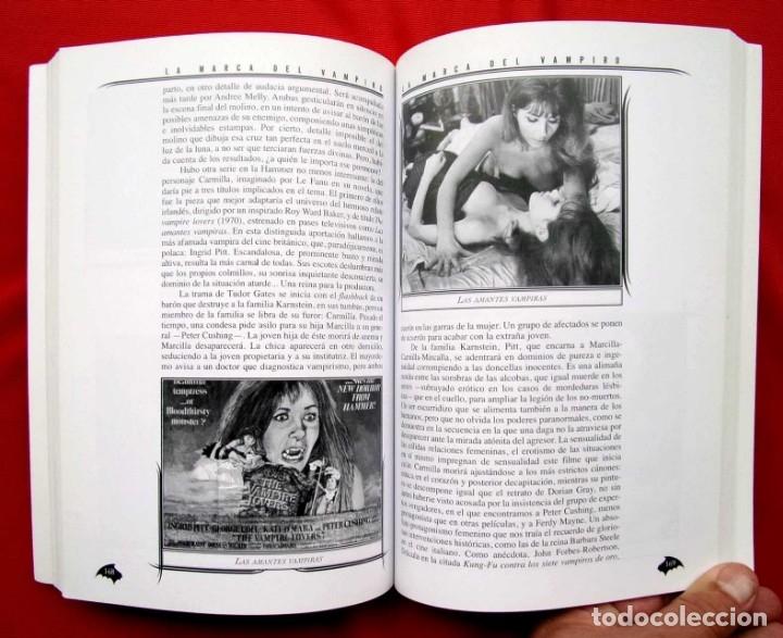 Libros de segunda mano: LA MARCA DEL VAMPIRO. CINE FANTÁSTICO Y DE TERROR. ESTEPONA. MALAGA. AÑO: 2006. - Foto 7 - 172346808