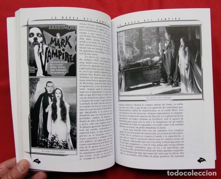 Libros de segunda mano: LA MARCA DEL VAMPIRO. CINE FANTÁSTICO Y DE TERROR. ESTEPONA. MALAGA. AÑO: 2006. - Foto 8 - 172346808