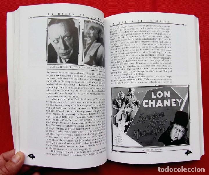 Libros de segunda mano: LA MARCA DEL VAMPIRO. CINE FANTÁSTICO Y DE TERROR. ESTEPONA. MALAGA. AÑO: 2006. - Foto 9 - 172346808