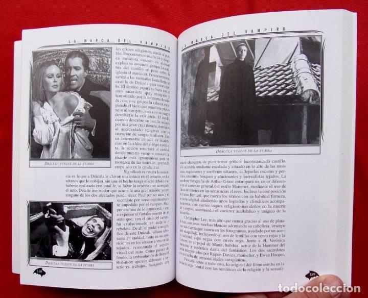 Libros de segunda mano: LA MARCA DEL VAMPIRO. CINE FANTÁSTICO Y DE TERROR. ESTEPONA. MALAGA. AÑO: 2006. - Foto 10 - 172346808