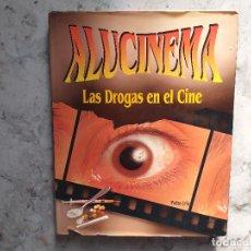 Libros de segunda mano: ALUCINEMA - LAS DROGAS EN EL CINE. PEDRO URIS.. Lote 172390994