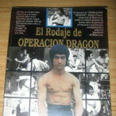 Libros de segunda mano: EL RODAJE DE OPERACIÓN DRAGÓN (ROBERT CLOUSE) BRUCE LEE. Lote 199889988