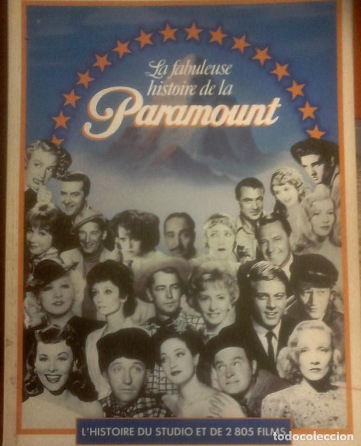JOHN DOUGLAS EAMES - LA FABULEUSE HISTOIRE DE LA PARAMOUNT (L'HISTOIRE DU STUDIO ET DE 2805 FILMS) (Libros de Segunda Mano - Bellas artes, ocio y coleccionismo - Cine)