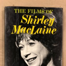 Libros de segunda mano: THE FILMS OF SHIRLEY MACLAINE. CHRISTOPHER PAUL DENIS. ED. CITADEL PRESS 1980. EN INGLÉS. Lote 172853559