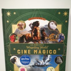 Libros de segunda mano: LIBRO CINE MÁGICO HARRY POTTER CRIATURAS CURIOSAS. Lote 173205468