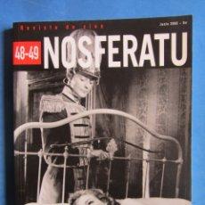 Libros de segunda mano: NOSFERATU NÚMEROS 48-49 CINE FRANCES 1945-1959 DE LA POSGUERRA A LA NOUVELLE-VAGUE JUNIO 2005. Lote 173575659