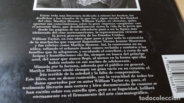 Libros de segunda mano: MARILYN MONROE - WILLIAM C TAYLOR - ULTRAMAR / GARA 34 - Foto 3 - 174477237