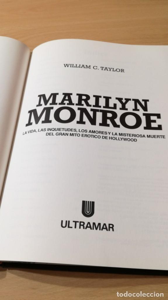 Libros de segunda mano: MARILYN MONROE - WILLIAM C TAYLOR - ULTRAMAR / GARA 34 - Foto 9 - 174477237