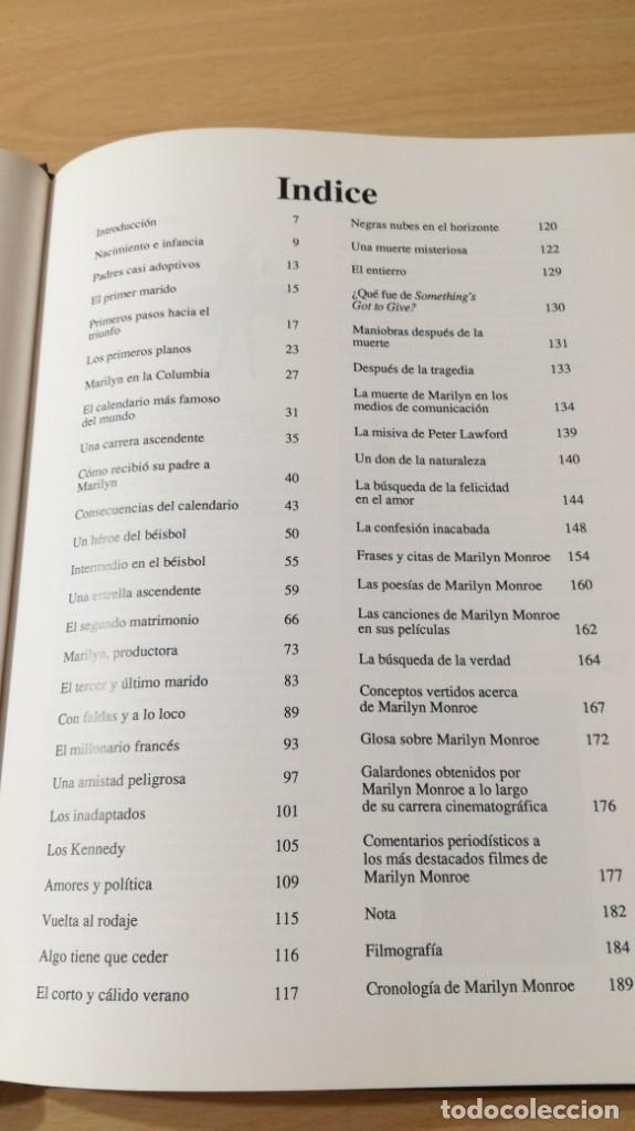 Libros de segunda mano: MARILYN MONROE - WILLIAM C TAYLOR - ULTRAMAR / GARA 33 - Foto 8 - 174477245
