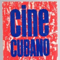Libros de segunda mano: CINE CUBANO. DICIMOVECA. CIRCA 1970. Lote 174555263