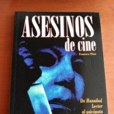 Libros de segunda mano: ASESINOS DE CINE - FRANCISCO PLAZA ( SERIE B). Lote 175015594