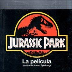 Libros de segunda mano: JURASSIC PARK. LA PELICULA. STEVEN SPIELBERG. SALVAT. 1993.. Lote 175402600