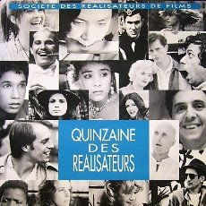 Libros de segunda mano: QUINZAINE DES REALISATEURS - CANNES 1993. Lote 175638655