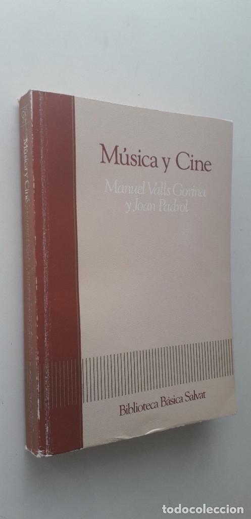 Libros de segunda mano: Música y cine - Manuel Valls Gorina, Joan Padrol - Foto 2 - 176090854