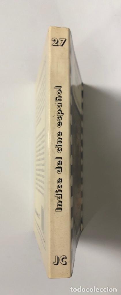 Libros de segunda mano: INDICE DEL CINE ESPAÑOL. FRUTOS ASENJO. EDICIONES JC. MADRID, 1998. PAGS: 206 - Foto 2 - 176172898