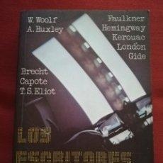 Libros de segunda mano: LOS ESCRITORES FRENTE AL CINE (EDICIÓN DE HARRY M. GEDULD) EDITORIAL FUNDAMENTOS. Lote 176183833