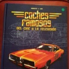 Libros de segunda mano: COCHES FAMOSOS DEL CINE Y DE LA TELEVISIÓN (ROBERTO J. LUIS). Lote 233650805