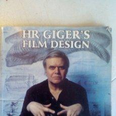 Libros de segunda mano: HR GIGER´S FILM DESIGN (ALIEN, DUNE, POLTERGEIST, ETC... ). Lote 176541895