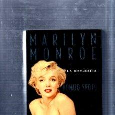 Libros de segunda mano: BIOGRAFIA. MARILYN MONROE. DONALD SPOTO. EDITORIAL ANAGRAMA. 1993.. Lote 176632930