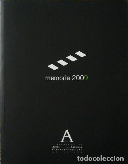 ACADEMIA DE CINE ESPAÑOL - MEMORIA 2009 (Libros de Segunda Mano - Bellas artes, ocio y coleccionismo - Cine)